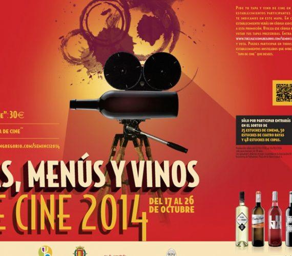 Tapas, menús y vinos de cine 2014