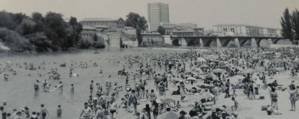 Playa de las Moreras: Aprovechando que el Pisuerga pasa por Valladolid…